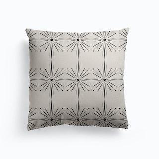 Sun Star Canvas Cushion