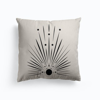 Shine From Within Canvas Cushion