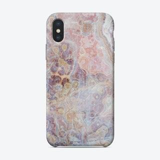 Pink Gemstone Phone Case
