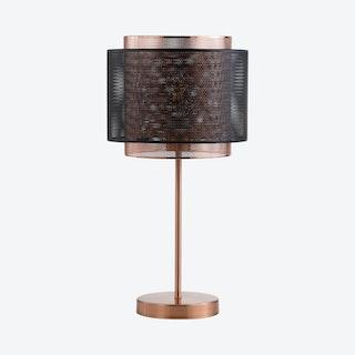 Tribeca LED Table Lamp - Copper / Black - Metal