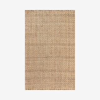 Estera Hand Woven Boucle Chunky Area Rug - Natural