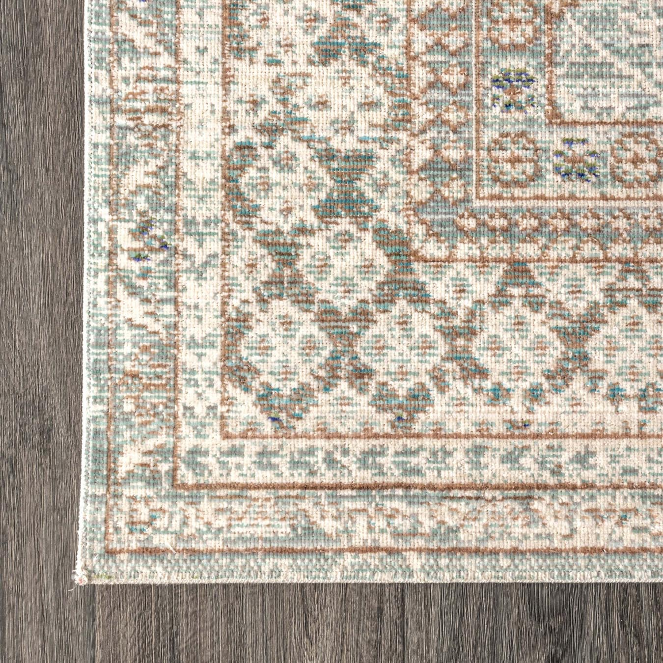 Stirling English Country Argyle Area Rug Light Blue Ivory By Jonathan Y Fy