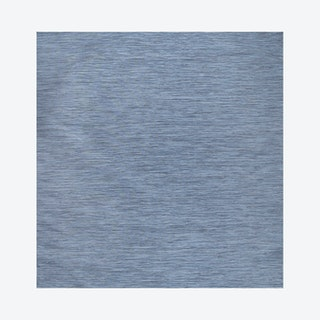 Ethan Modern Flatweave Solid Square Area Rug - Blue
