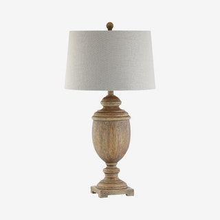 Kennedy LED Table Lamp - Brown - Resin