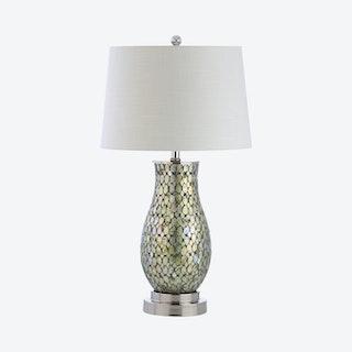 Douglas LED Table Lamp - Green - Mosaic