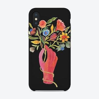 Nosegay Black Phone Case