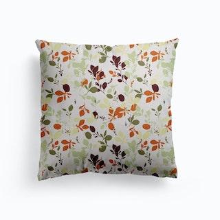 Autumn Days Canvas Cushion