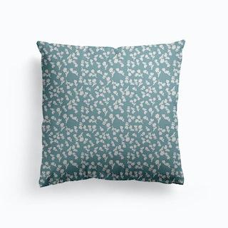 Flower Crush Canvas Cushion
