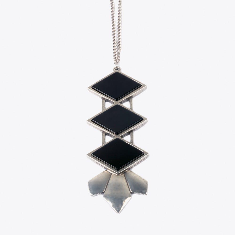 Crazy Diamond Tie Necklace