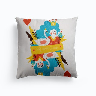 Self Love Queen Canvas Cushion