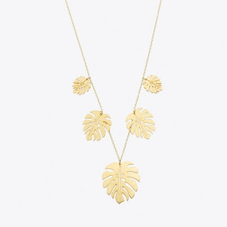 Jungle Necklace in Gold
