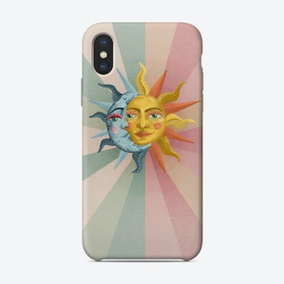 Sun And The Moon Phone Case