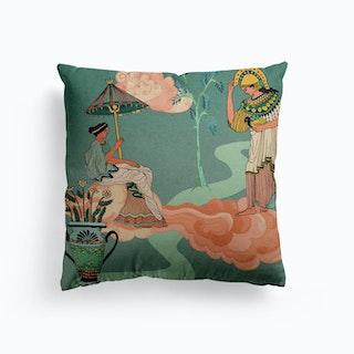Greek Goddesses Canvas Cushion