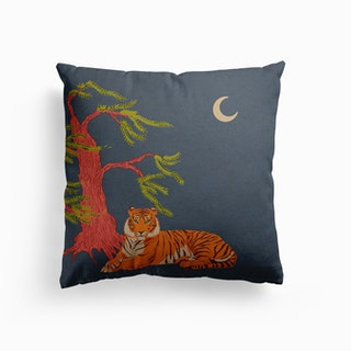 Majestic Tiger Canvas Cushion