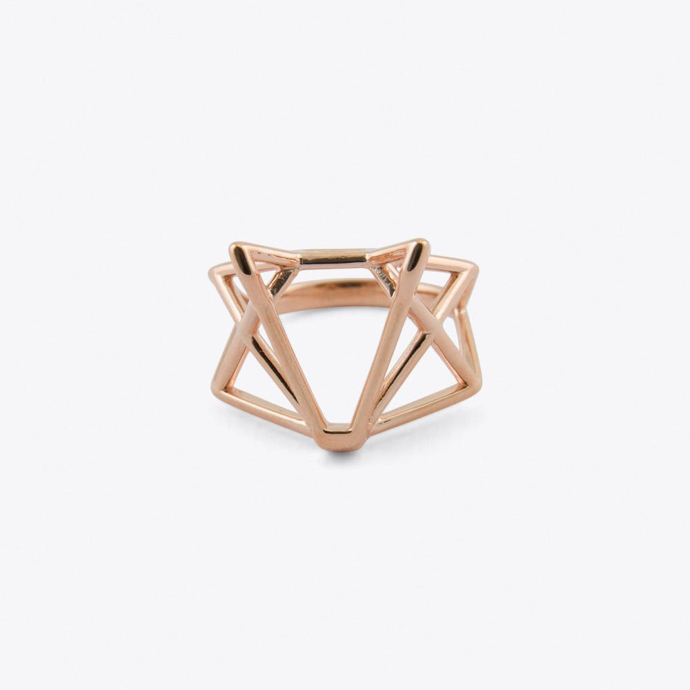 Foxtastic Ring in Rose Gold