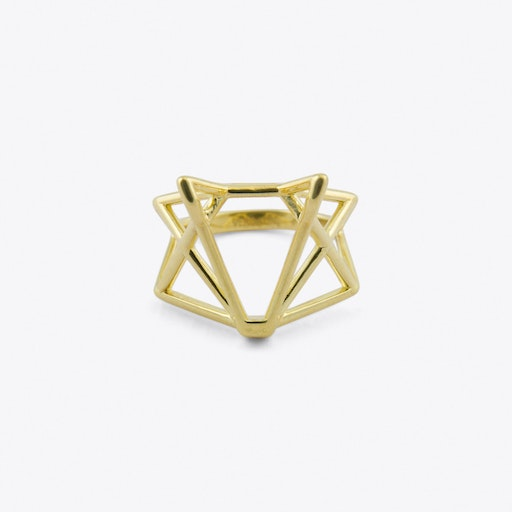 Foxtastic Ring in Gold