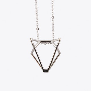 Foxtastic Necklace in Sterling Silver