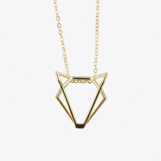 Foxtastic Necklace in Gold