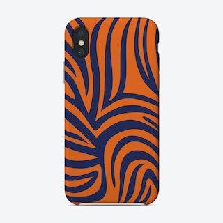 Tangerine Tiger Phone Case
