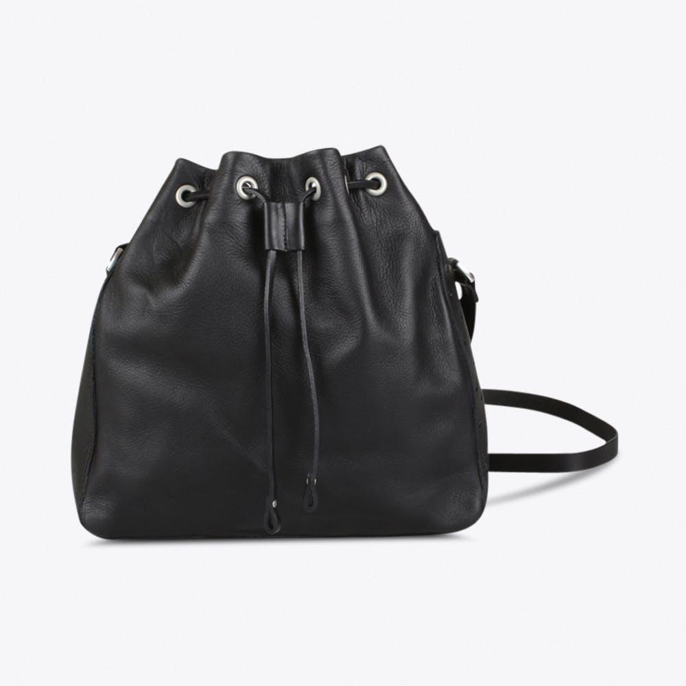 Giza Bucket Bag in Black