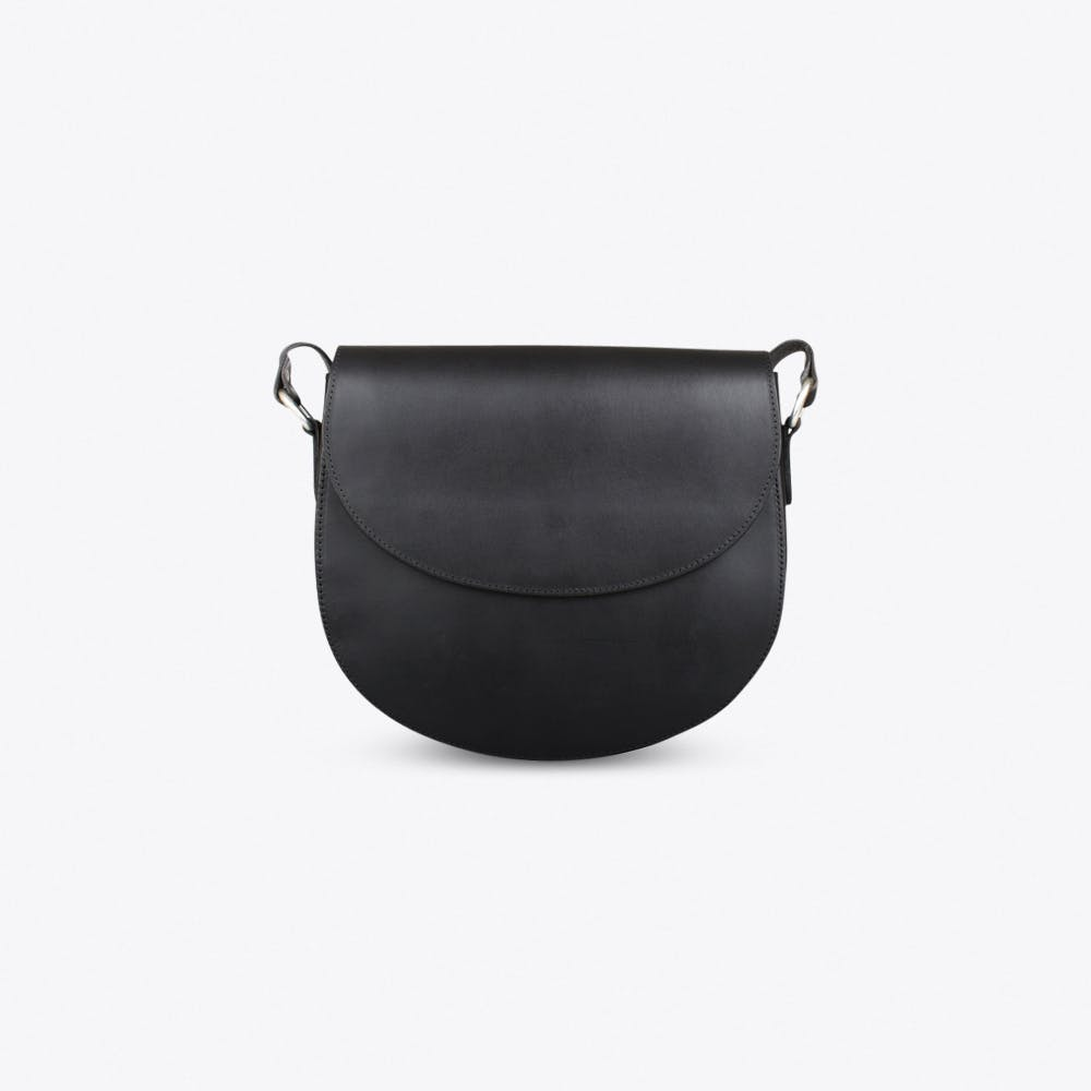 Saddle Bag In Black