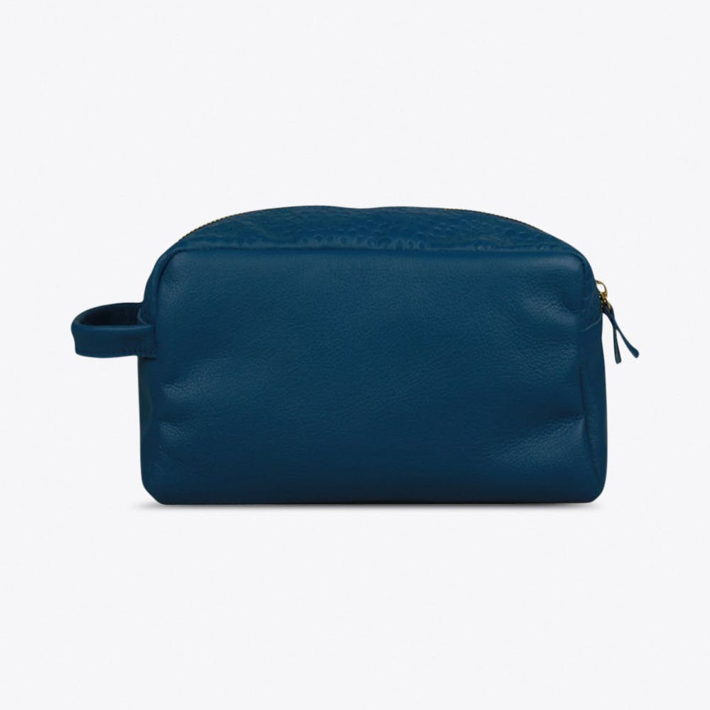 Boyfriend Washbag in Blue