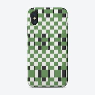 Weave Green Phone Case