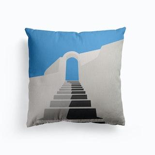 Greece Canvas Cushion