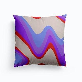Swirl Canvas Cushion