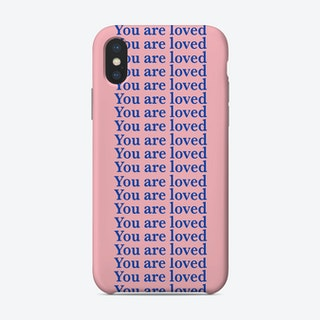You Are Loved Pink Phone Case