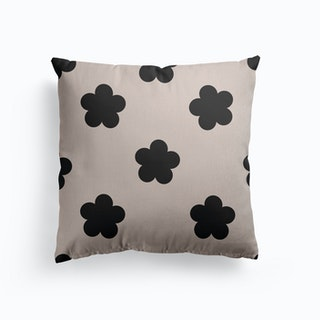 Floral Repeat Canvas Cushion