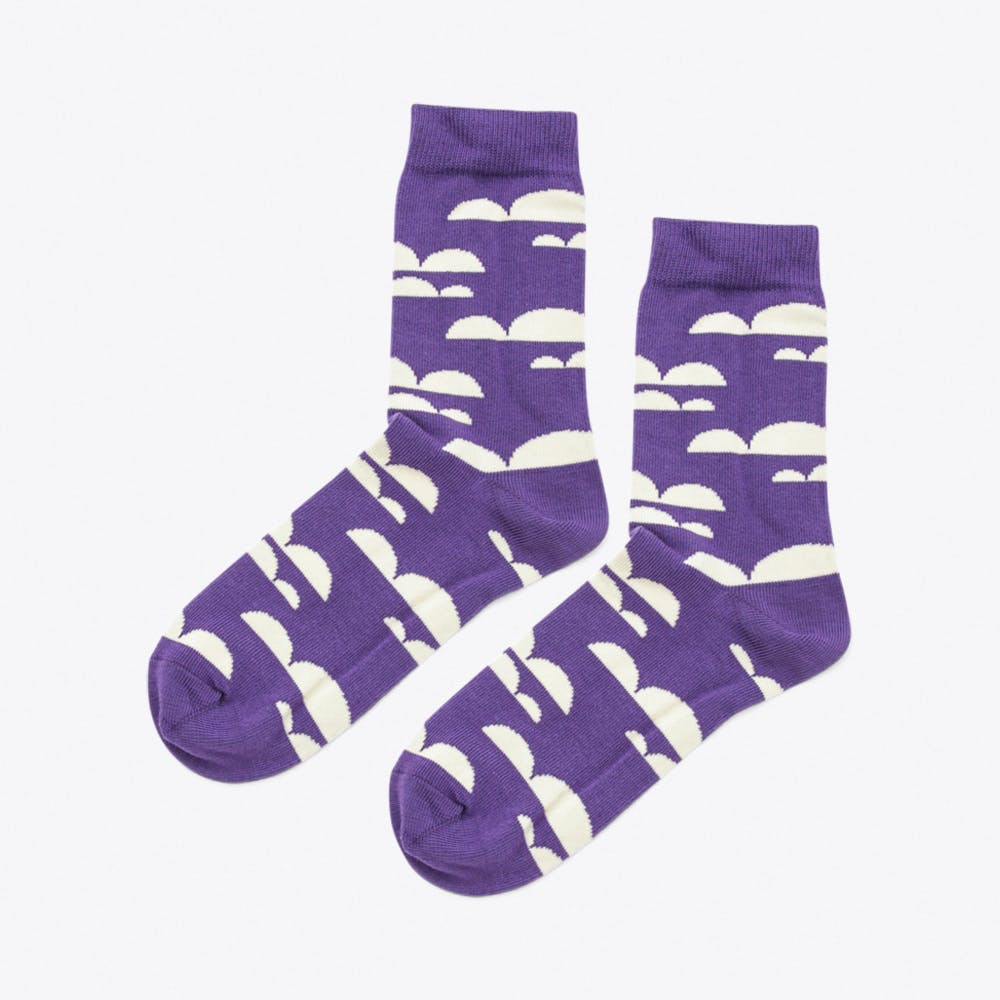 Cloudyy Socks in Indigo