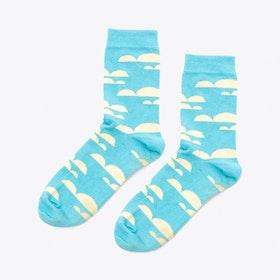 Cloudyy Socks in Sky Blue