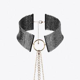 Desir Metallique Collar Choker in Black