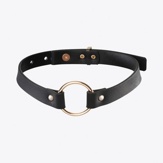 Maze Single Choker in Black