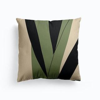 Green Canvas Cushion