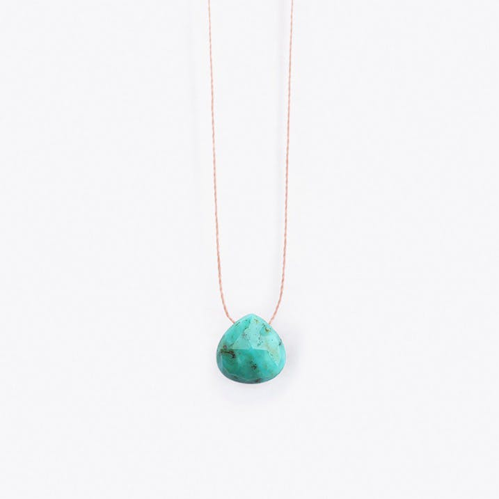 Chinese Spotted Turquoise Necklace