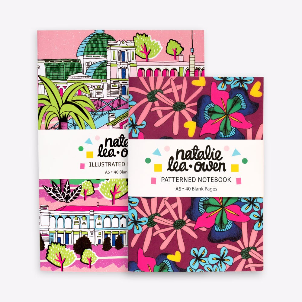 Alexandra Palace & Botanical Notebook Bundle