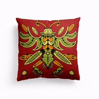 Insecte 5 Canvas Cushion