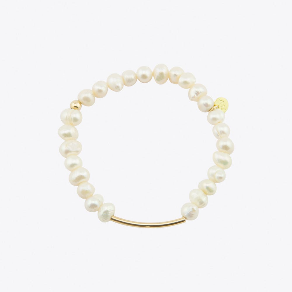 K.I.S.S. Pearl Bracelet