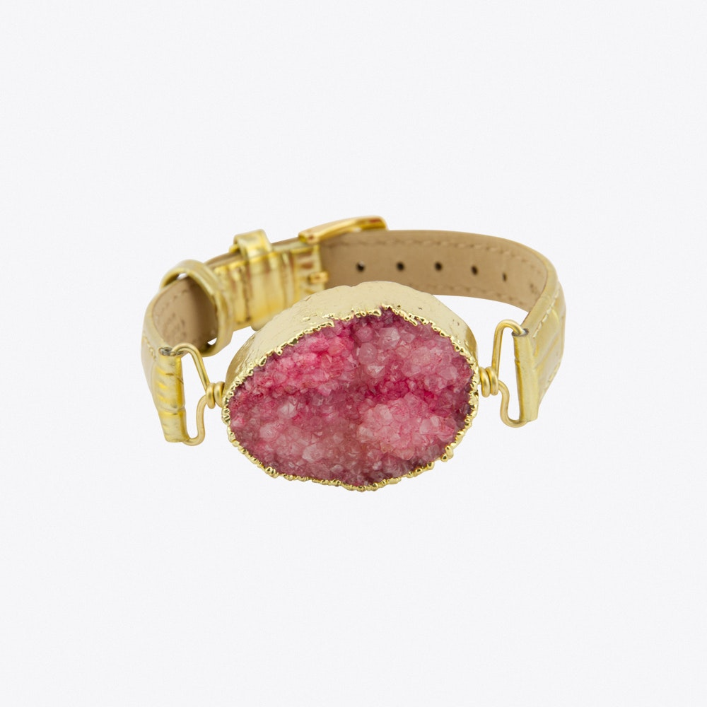 f594e6cd27a Time to Rock Pink Sugar Bracelet by New Vintage by Kriss. Discover ...