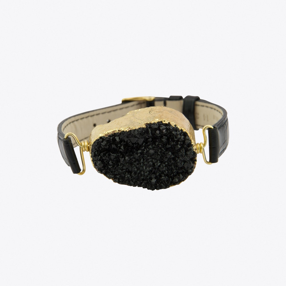 ecf4cd36033 Time to Rock Black Sugar Bracelet by New Vintage by Kriss. Discover ...