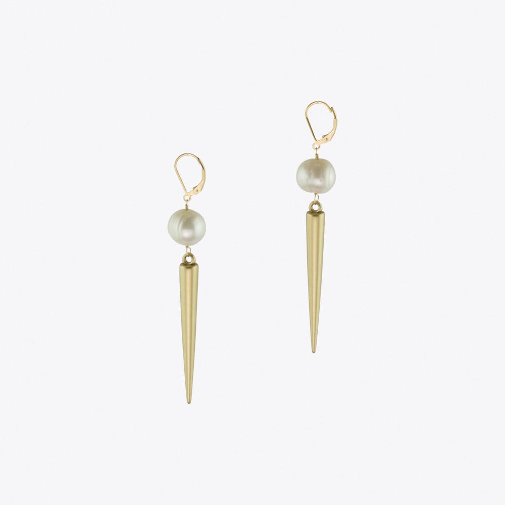 Coco Goes Rebel Pearl Earrings