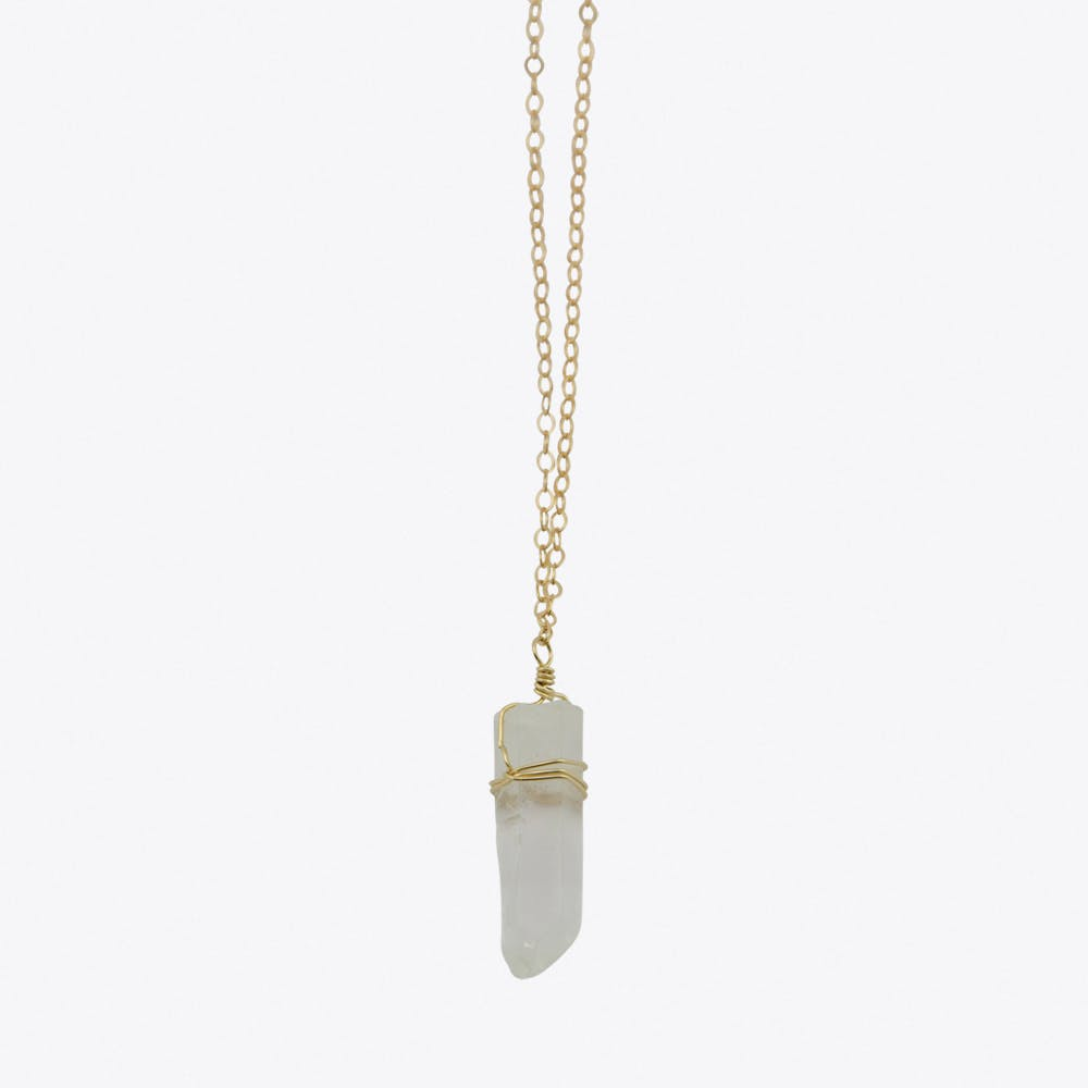 Mountain Crystal Mini Magic Necklace