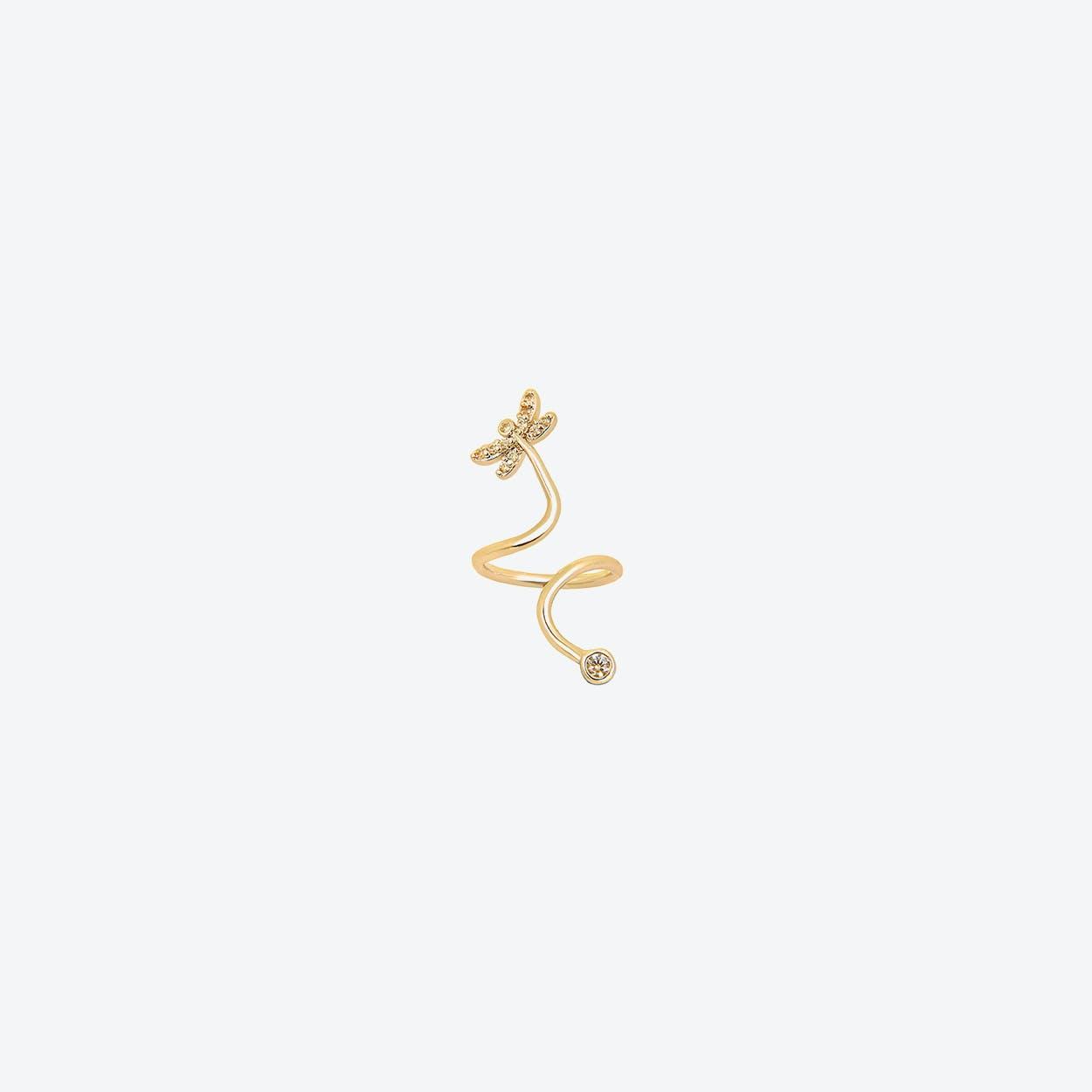 Dragonfly Midi Ring