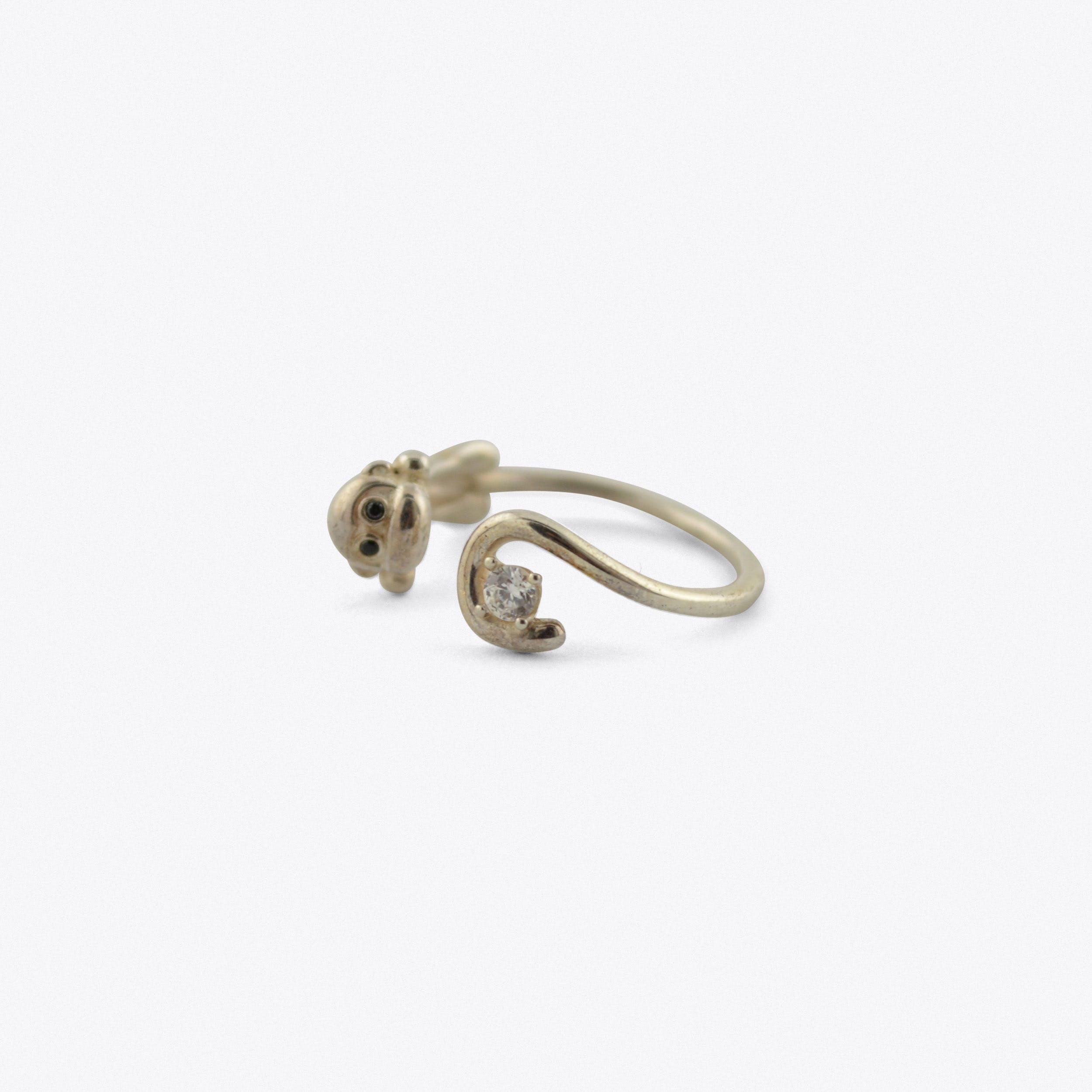 Monkey Ring Sterling Silver