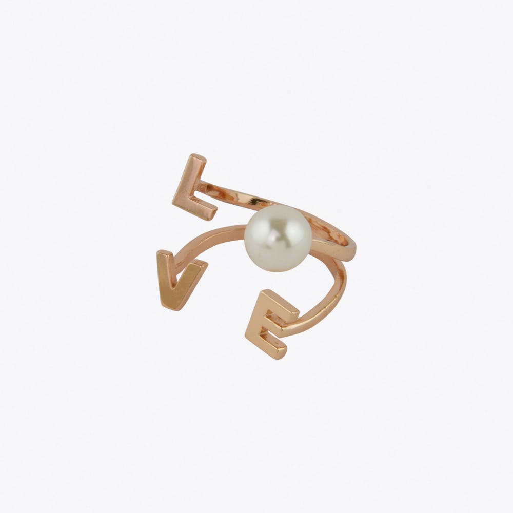 Love Surrounds Ring in Rose Gold