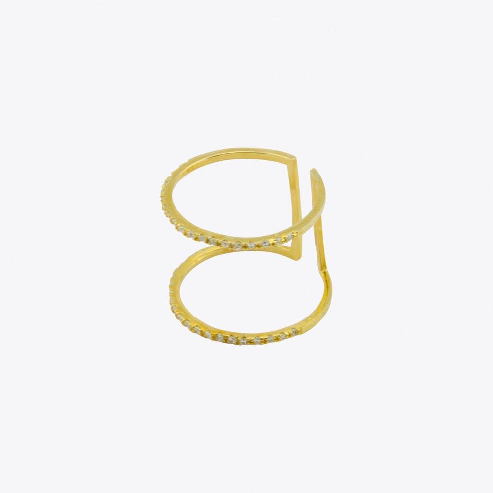 Ultra Slim Ring in Gold