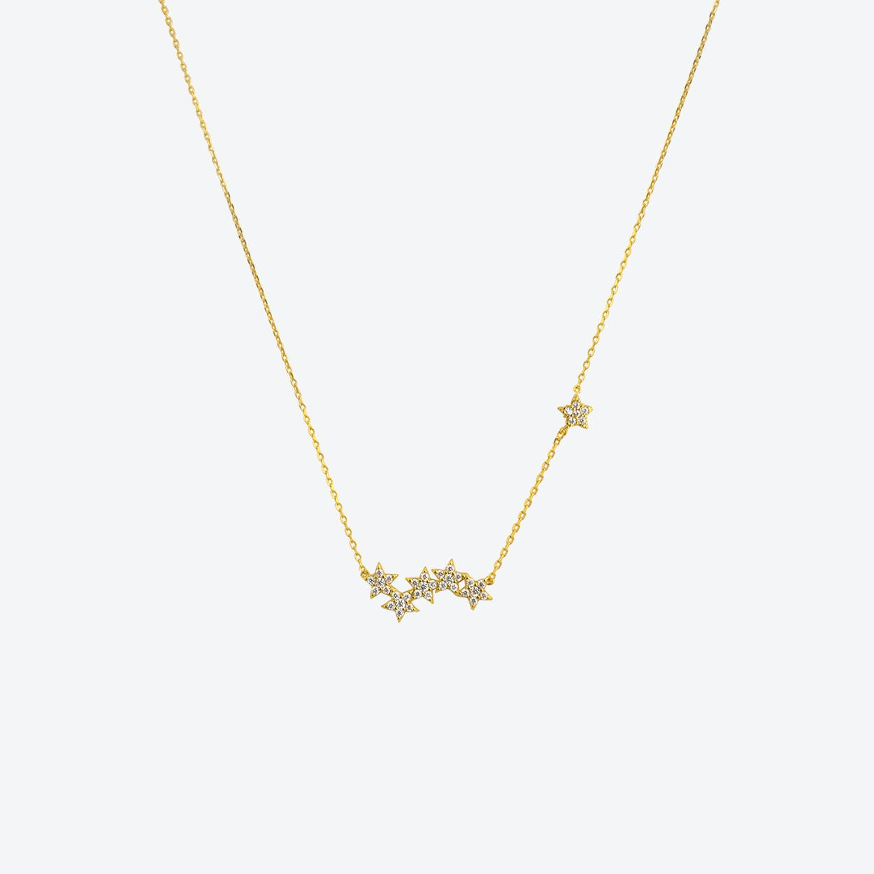 Starburst Necklace  in Gold