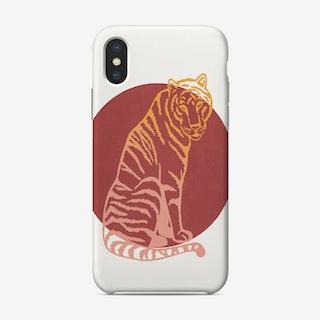 Tiger Sun Phone Case